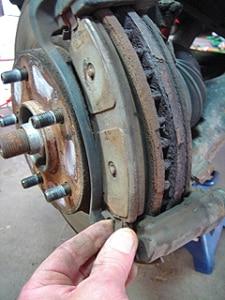 Brake Rotor & Pad Service & Replacement